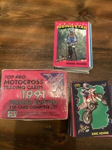 Hi Flyers MX Cards Box of 150 Complete Set. 1991 EditionAll unopened