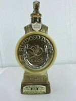 Ruidoso Down's New Mexico Bourbon Whiskey Vintage Decanter Bottle Empty Horse