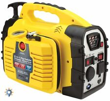 Battery Jump Box Engine Starter Booster Air Compressor Portable Power Source NEW