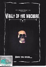 VAULT OF THE MACABRE - Poetry by Darren Field - Paperback - Horror Block - 02/17