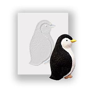 Xmas Penguin Silicone Mould, Food Safe, Cake Decorating, Sugarcraft Mold