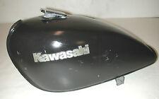 Vintage KAWASAKI 650 Black Motorcycle Fuel Gas Tank