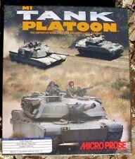 M1 Tank Platoon By Microprose for Atari 520/1040 ST NIB New