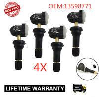 4x 13598771 13598772 Fit GM Equipment Tire Pressure Sensor TPMS