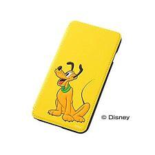 iPhone6 Plus Book Type Leather Case Disney Cartoons Pluto RT-DP8J / PL