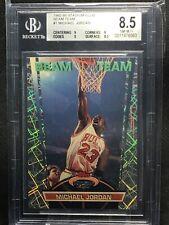 1992-93 Stadium Club Beam Team #1 Michael Jordan BGS 8.5