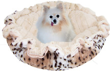 Bessie and Barnie Ultra Plush Aspen Snow Leopard/Natural Beauty Luxury Deluxe Do