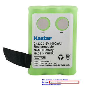 Kastar Ni-MH Battery Replace for CLARITY C4220 CLARITY C4230 CLARITY 74235