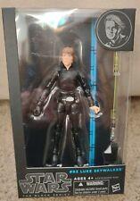 "Luke Skywalker BLUE 6"" figure STAR WARS #03 BLACK SERIES Unopened RETURN JEDI"