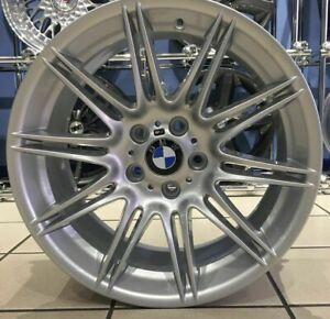 """Genuine BMW E90 E91 E92 E93 19"""" MV4 Alloy Wheel 225M Rear 9J Silver Refurbished"""