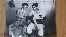 PHIL RIZZUTO SIGNED 11X14 W SINATRA TAKE ME OUT TO THE BALL GAME MOVIE INSC 1949