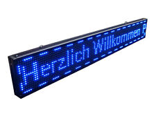 Wifi 130 x 20cm LED Laufschrift Werbeschrift Reklame Lauftext Schild