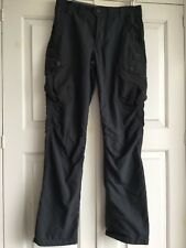 QUECHUA Mens HIKING TROUSERS lightweight grey size S