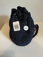 The Sak Crochet Backpack Purse New