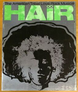 Hair 1970 London THEATRE PROGRAM