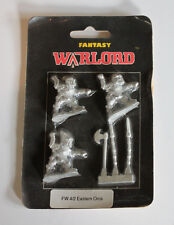 Vintage Warlord Eastern Orcs Fantasy Sealed in Package Fw 4/2 Lead 1991 England