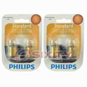 2 pc Philips 631B2 Multi Purpose Light Bulbs for 23023 Electrical Lighting ox