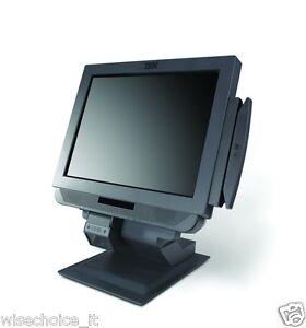 "IBM 4838-E37 Anyplace Kiosk Display  Intel 1.3GHz 17"" Display Swipe Card Scanner"