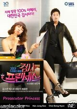 Prosecutor Princess Korean Drama (4DVDs) Excellent English & Quality!
