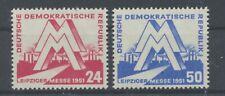 DDR 282/83 postfrisch / Leipziger Messe (15905) ................................