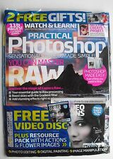 MASTER RAW  Practical Photoshop #17 + LOADED CD WITH 13 VIDEO LESSONS Sealed New