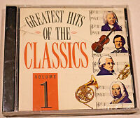The Greatest Hits of the Classics Volume 1 (CD, UK Import) New, Free Shipping!