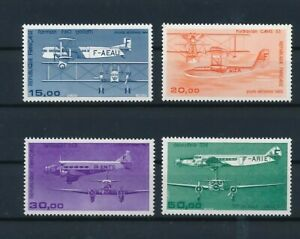 D194250 France 1984 Airmails - Aircrafts MH 4 values