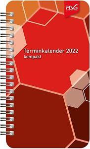 FLVG Terminkalender 2022, Kalender, 10 x 17 cm, Planer kompakt