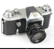 Camera Zeiss Ikon   Contax D With Lens Zeiss Biotar 2/5,8cm Red T    M42