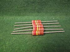 (1) 5 Pack Carbon Comp 820K OHM 2 Watt 5% Resistors NOS