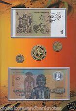 2005 Indigenous Australia.. Coin & Note Portfolio