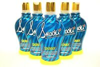 6x~SNOOKI~SKINNY~DARK BLACK BRONZER~FIRMING~INDOOR~TANNING BED~LOTION~SUPRE~LOT