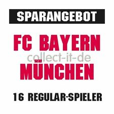 Match Attax 15/16 - Alle 16 Basiskarten - FC Bayern München