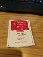 Stampin' Up! Real Red Stamp Pad