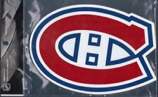 MONTREAL CANADIENS HABS LOGO WOODEN WALL PLAQUE