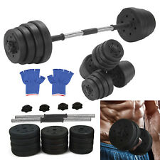 30kg Dumbbells Set Gym Dumbells Weights Biceps Workout Exercise Training Fitness