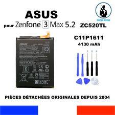 BATTERIE ORIGINE OEM ASUS ZenFone 3 MAX ZC520TL 4130mAh GENUINE C11P1611  OUTILS