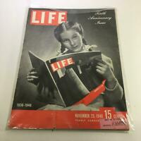 Life Magazine: November 25 1946 Tenth Anniversary Issue Cover