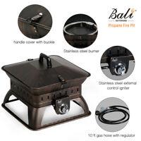 Fire Pit Patio Heater Propane Outdoor Portable Heaters Fireplace Gas Backyard US