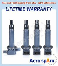 For Toyota Camry Scion Echo Yaris Prius Set of 4 Ignition Coils UF316 C1304