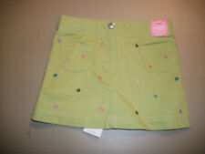 Nwt Gymboree ~ Mix N Match~ Green Heart Skort~Size 3