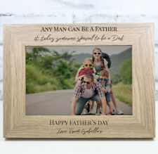 Personalised Father's Day Photo Frame  Fathers Day Gift Father's Day