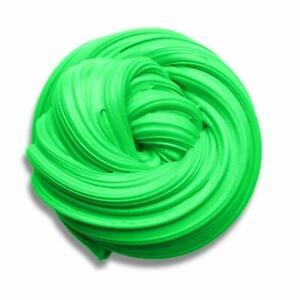 SLIME HUGE PACK FLUFFY CHILDREN FUN CLAY SOFT PLASTICITY GIFT 700GR/ 25OZ GREEN