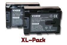 2x Batterie 1200mAh infochip pour JVC BN-VG114, BN-VG114AC, BN-VG114E