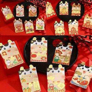 Assorted 36 Chinese New Year of the Ox 2021 Red Envelopes / Money Envelopes