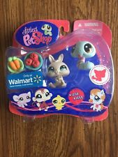 Littlest Pet Shop Snake and Bunny Rabbit #1258 & #1259 Exclusive MIB BRAND NEW