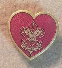 BOY SCOUT LIFE RANK PARENT PIN RECOGNITION AWARD SUPPORTED SPINLOCK CLASP A00377