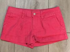 American Rag CIE Hot Pink Juniors Mini Shorts Size 1 EUC Low Rise Shorts Nice!