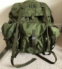 US Army Alice Pack Military Backpack Large With Frame Olive Green