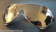 Gafas de sol aviador - - Lentes espejado plata - Producto nuevo